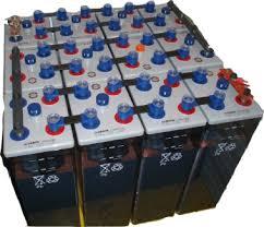 batterie solaire stationnaire